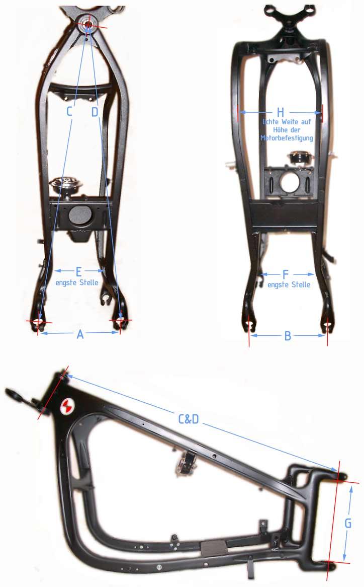 Tolle Motorradrahmen Richt Bilder - Benutzerdefinierte Bilderrahmen ...