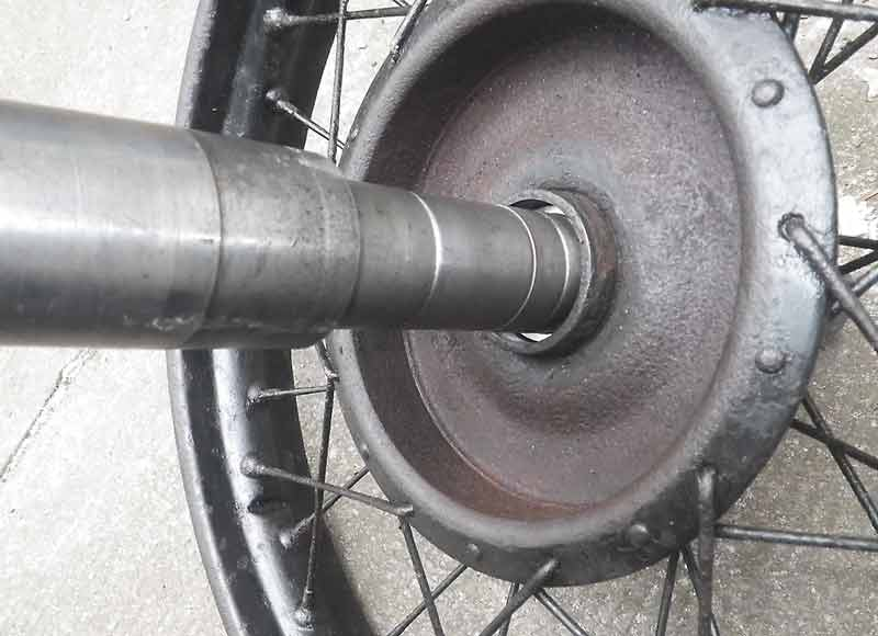 Ganz und zu Extrem Bremstrommeln ausdrehen - R35 - Das Forum @PZ_86